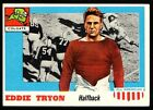 1955 Topps All American #42 Eddie Tryon (SP) EXMT