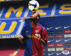 Seydou Keita SIGNED 8x10 Photo Barcelona *VERY RARE* PSA/DNA AUTOGRAPHED