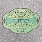 "40g Clear Chunky Big Glitter 0.040"" - For Arts & Craft, Nail Art and Fashion"