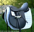 New German Beauty synthetic and leather combination adjustable saddle in 5 sizes