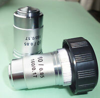 HIGH QUALITY DIN Microscop Objective for Biological Microscopes, 6 to Choose BNC