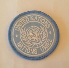 UN Shoulder Patch, United Nations, Army, Military, Offical Badge, Velcro, New,