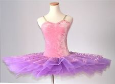 Ellis Bella Ballet performance tutu -- Candy pink / purple colour Adult size