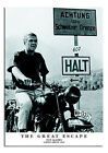 The Great Escape Steve Mcqueen Large Wall Poster New - Laminated Available