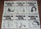 SET OF SIX SIGNED POSTERS SYLVIA MILES, LINDA HOPKINS, RENE AUBERJENOIS, more