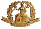 WW1 THE GRESHAMS SCHOOL O.T.C BADGE BRASS METAL