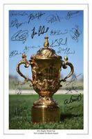 NEW ZEALAND ALL BLACKS RUGBY WORLD CUP 2011 SQUAD SIGNED AUTOGRAPH PHOTO PRINT