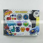 Top Super Metal Fusion Double String Launcher Beyblade Battle Toy Set #2820-D4