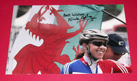 NICOLE COOKE CYCLING AUTOGRAPH HAND SIGNED 12X8 PHOTO