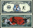 MARTIAL ARTS MILLION DOLLAR NOVELTY BILL LOT OF 2 BILLS