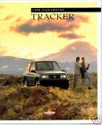 1998 Chevrolet Tracker 26-page Geo Truck Original Dealer Sales Brochure