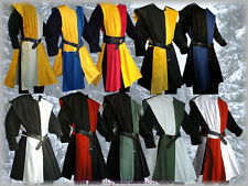 Medieval Knight Surcoat 2 Colours Chess Board 10 Designs SCA Larp Reenactment