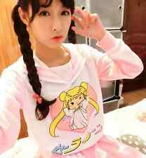Anime Sailor moon Harajuku Mercur Cosplay Sweater Lolita Sailor Collar T shirt