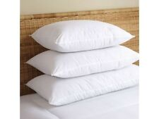 Premium 500 Thread Count European White Goose Down Pillow Standard Queen King