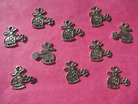 Tibetan Silver Helicopter Charm - 10 per pack *Fifty Shades Themes*