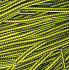 TZ Branded 5mm Brown/Yellow Stripe Cord Laces Suitable For Hiking Boots & Shoes