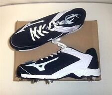 Mizuno Advanced Swagger 2 Low Men's Baseball Cleats NIB White/Black Various Size