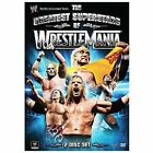 WWE WWF THE GREATEST SUPERSTARS OF WRESTLEMANIA 2-Disc DVD Set