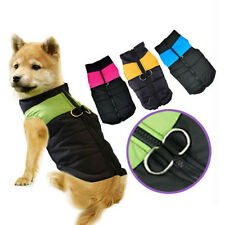Waterproof Jacket Coat Winter Quilted Padded Puffer Clothes for Small Dog Puppy