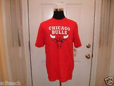 Brand New Red Derrick Rose Chicago Bulls #1 Majestic Name & # Player T-Shirt