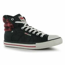 British Knights Mens Footwear Atoll Mid PU Trainers Sneakers Shoes