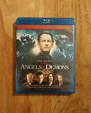 Angels & Demons (2009) Like New 2-Disc Blu-ray THEATRICAL & EXTENDED Tom Hanks
