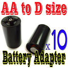 10 x Battery Adapter Converter Case Holder for AA to D