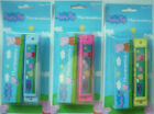 Peppa Pig Yellow, Blue or Pink Toy Harmonica Mouth Organ Musical Instrument &Box