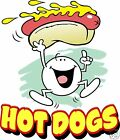 Hot Dogs Decal 10