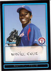 TEXAS RANGERS PITCHER NEFTALI FELIZ'S 2009 BOWMAN  # BP1 ROOKIE CARD