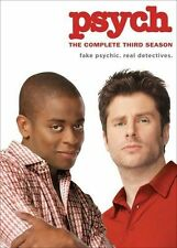 Psych - The Complete Third Season (DVD, 2009, 4-Disc Set)
