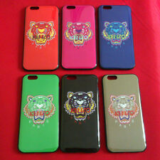 New Fashion Glossy Kenzo Tiger Soft TPU Case Back Cover For iPhone 6 4.7 inch