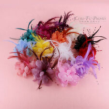 Hair Flower Clip Wedding Fascinator Bridal Accessories Ladies Corsage Accessory
