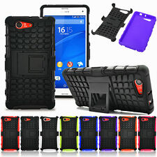 Heavy Duty Armour Shock Proof Hard Case Cover for Sony experia Z3 Compact Mini