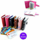 24 slot Credit IC VIP Card Organizer Case Stand Pouch Keeper Wallet Album Holder