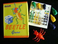 NEW BEETLE GAME. TRADITIONAL RETRO 1950's VINTAGE TOY