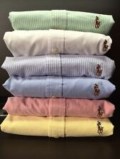 NEW POLO RALPH LAUREN WOMEN'S LONG SLEEVE OXFORD BUTTON DOWN CLASSIC FIT SHIRT