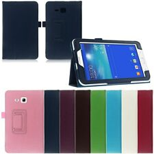 COVER CASE PER SAMSUNG GALAXY TAB 3 7.0 LITE SM-T110 T111 CUSTODIA STAND TABLET