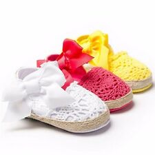 Baby Infant Kids Girl Soft Sole Crib Toddler Newborn Shoes 0-18 months anti-slip