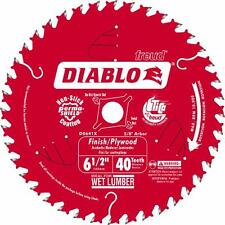 "Freud 6-1/2"" 40T Diablo Carbide Tipped Saw Blade D0641X"