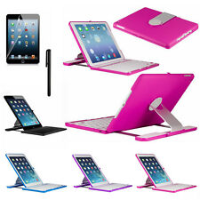 Rotating Stand Case Cover Swivel Wireless Bluetooth Keyboard For Ipad Air 2 New