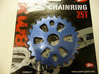 New Coyote BMX Alloy Sprocket / Chainwheel 25T - 5mm COLOUR BLUE