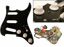 Loaded Dave Gilmour Deluxe Pre-Wired Stratocaster Scratchplate & Electrics