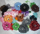 HUGE WHOLESALE LOT - 25 ASSORTED FLOWER HEADS - GREAT FOR HATS HEADBANDS CLIPS