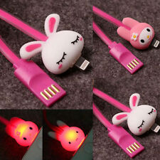 Cartoon USB LIGHTNING LED CHARGEUR Pour iPhone 6 5 5S 5C CABLE IPAD MINI AIR IPO