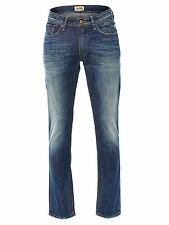 NEU TOMMY HILFIGER JEANS HERREN REGULAR FIT RYAN CAMU 114 BLAU BLUE MEN