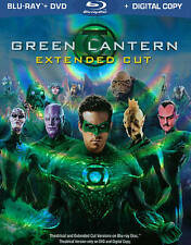 Green Lantern (Blu-ray/DVD, 2011, 2-Disc Set, Extended Cut; Includes Digital...