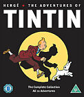 The Adventures of Tin Tin - complete collection All 21 episodes - 5 x DVD set