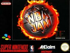 SNES - NBA Jam Tournament Edition (boxed) (very good condition) (used)