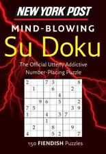 New York Post Mind-Blowing Su Doku: 150 Fiendish Puzzles 9780062007513, Com, NEW